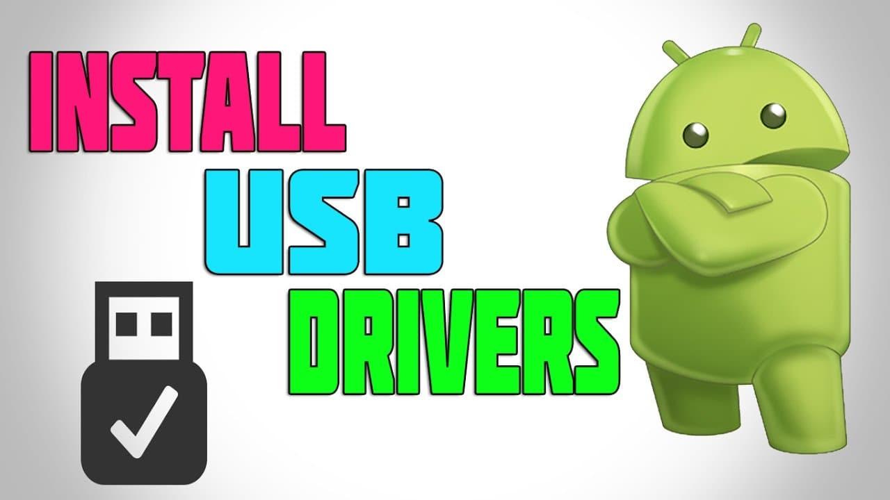Install USB Drivers
