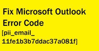 Fix pii_email_11fe1b3b7ddac37a081f error